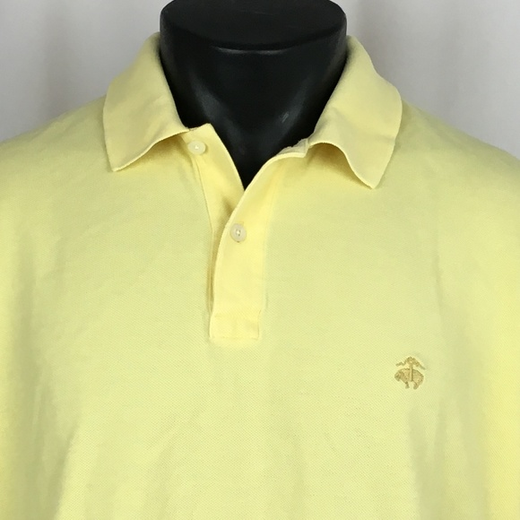 245729bb Brooks Brothers Other - BROOKS BROTHERS 346 Polo Shirt Men's Medium Yellow